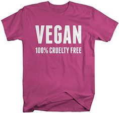 Vegan life is such a commitment. You commit to not using or consuming any animal products. Be proud, and let the world know that you are 100% cruelty free in this t-shirt for vegans. Our cotton shirts