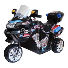 3 Wheel Motorcycle, Motorcycle Battery, Boys Fashion Wear, Power Bike, Chrome Colour, 3rd Wheel, Toy 2, Ride On Toys, Diecast