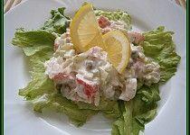Krabí pochoutkový salát