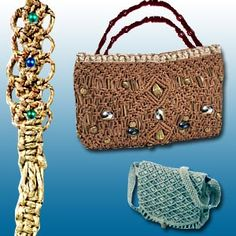 Macrame is an art form that requires hardly any supplies, just nimble fingers and lots of imagination. Using varied materials, you can create wonderful decorative and utilitarian items. As a hobby, it can bring calm and relaxation.