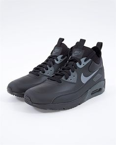 new style 8b3f2 97630 Nike Air Max 90 Ultra Mid Winter - 924458-002 - Svart - Footish