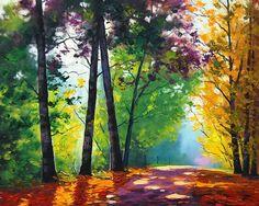 Pinturas de paisagem - Graham Gerken