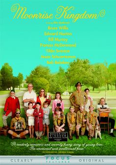Moonrise Kingdom | Wes Anderson, 12 year old love, gorgeous cinematography. Perfect for a lazy Saturday.