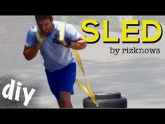 Workout Hack: DIY Weight Sled! - Best Home Gym Equipment - YouTube