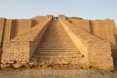 The ancient Sumerian city-state of Ur, in modern-day Iraq.