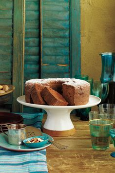 Wickedly Delicious Chocolate Desserts: Mexican Chocolate Pound Cake