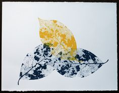 I am already hooked on the feel of pulling that ink-filled squeegee across my silkscreen… Crayon Art, Painted Leaves, Leaf Prints, Fabric Painting, Creative Art, Printmaking, Screen Printing, Artsy, Project 3