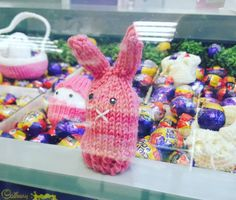 Our local shop The Gem purveyors of all things snack related has a deadly little Easter competition on at the mo. Guess correctly the amount of chocolate eggs on show and you could be in with a chance to win one seriously full on sugar rush! #springsprung #crochetbunnies #crochet #easter #chocolate #easteregg #bunny #cornershop #localshop #yummy #spring #dspink #startup #irishbusiness #irishdesign #sustainability #environment