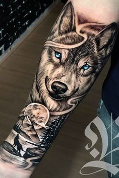 beelmoon - 0 results for tattoos Wolf Tattoo Forearm, Forearm Sleeve Tattoos, Best Sleeve Tattoos, Tattoo Sleeve Designs, Tattoo Designs Men, Tattoo Wolf, Tigergesicht Tattoo, Holz Tattoo, Forarm Tattoos