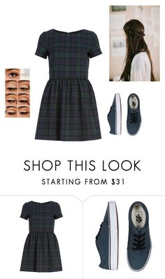 """""""?"""" by haileyscomet95 ❤ liked on Polyvore featuring River Island and Vans"""