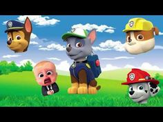 Just posted! 😂 Wrong Head for kids learning -  with Paw Patrol with Baby Boss 😀 Learn Colors with  https://youtube.com/watch?v=Ukek1GhY88s