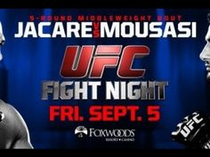UFC After Show for Fight Night 50: Jacare vs. Mousasi