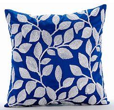 Luxury Royal Blue Decorative Pillows Cover, Contemporary ... https://www.amazon.com/dp/B016H8XZQ4/ref=cm_sw_r_pi_dp_x_iBlFybZFECB6Z