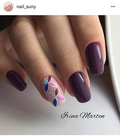 115 pretty nails light up on your fingertips to give you a cool summer 19 Best Nail Art Designs, Acrylic Nail Designs, Cute Nails, Pretty Nails, Nail Deco, Gel Nails, Acrylic Nails, Manicure E Pedicure, Purple Nails