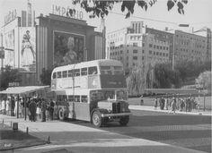 Lisboa, Autocarro 7, Alameda, 1960.  Fotografia do Museu da Carris.