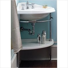 Corner Sinks | The Perfect Bath Wish I knew where to find this