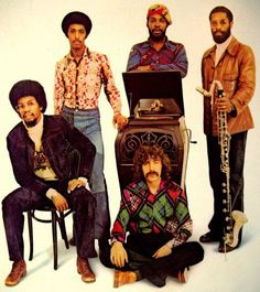 Herbie Hancock & his band 1974