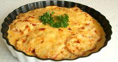 Lättlagad rödspätta i ugn med tomat och lagrad prästost. Quiche, Risotto, Mashed Potatoes, Health Fitness, Pie, Breakfast, Ethnic Recipes, Desserts, Food