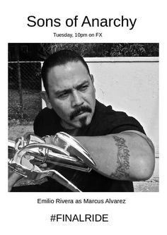 Emilio Rivera. Sons of Anarchy Star. Leader of the Mayans MC .Marcus Alvarez.
