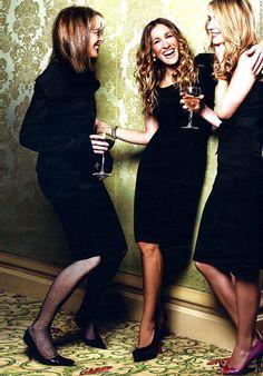 Diane Keaton, Sarah Jessica Parker & Claire Danes