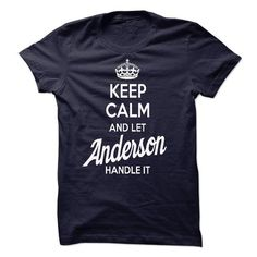 Keep Calm And Let Anderson Handle It - #tshirt logo #hoodies for teens. ORDER NOW => https://www.sunfrog.com/Names/Keep-Calm-And-Let-Anderson-Handle-It-10-OFF.html?68278
