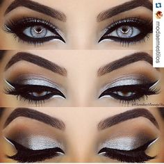 #Repost @modaemestilos with @repostapp. ・・・ Makeup!