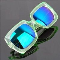 2015 New Blue Cool Fashion Retro Vintage Metal Star Style Designer men and women Sunglasses UV400 Eyeglass Eyewear