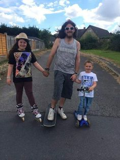 #dadandme #microscooters #fathersday #family #competition