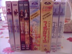 Lot de 42 dvd / 5 saisons des Experts Miami