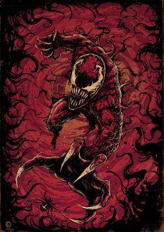 Venom Comics, Marvel Comics Art, Marvel Avengers, Nerdy Wallpaper, Marvel Wallpaper, Pop Art Illustration, Art Illustrations, Symbiotes Marvel, Venom Art