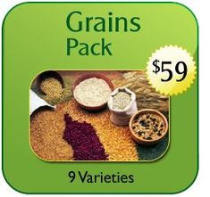 Grains are the single most important food in the world. From cereals to breads of all kinds, cakes, pies, porridges; for brewing beer and other beverages or even feeding livestock. The Heirloom Organics Non-Hybrid Grains Pack provides the most nutritious and delicious original grain varieties available.