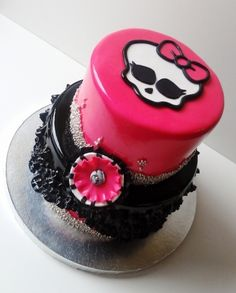 Monster High  By ohsugarsweets on CakeCentral.com