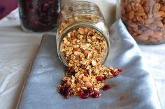 Maple Vanilla Almond granola
