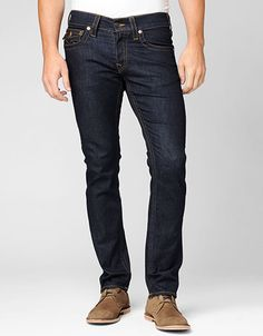 Zach Slim Jean. Win True Religion discount Gift Cards on http://www.cityhits.com and use them towards slim jeans like these. #mens #fashion #fall2013