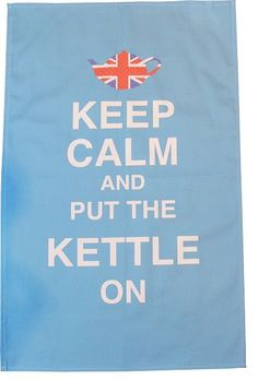 Cheer up your kitchen with a witty tea towel.  I've found 10 to make you smile.