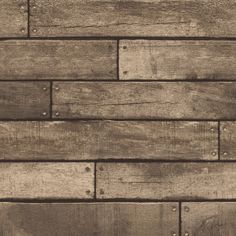 Browse the Fine Decor Distinctive Brown Wooden Plank Wallpaper. A stunning accompaniment  to many bathroom settings. Now in stock at Victorian Plumbing.