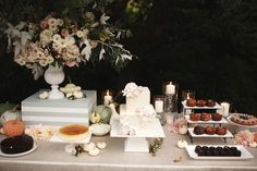 Wedding dessert buffet - Robinswood House, Bellevue, Washington #catering
