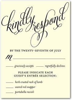 16 Best Wedding Invitation Rsvp Images Wedding Stationery