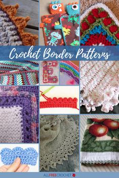 Explore several free tutorials and videos to learn how to crochet edging. Includes instructions for shell, ruffle, and picot crochet edging. Crochet Afghans, Picot Crochet, Crochet Ruffle, Thread Crochet, Crochet Motif, Crochet Shawl, Crochet Baby, Crochet Curtains, Crochet Squares