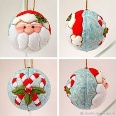 1 million+ Stunning Free Images to Use Anywhere Quilted Christmas Ornaments, Felt Christmas Decorations, Christmas Baubles, Christmas Art, Folded Fabric Ornaments, Handmade Ornaments, Felt Ornaments, Christmas Makes, Christmas Inspiration