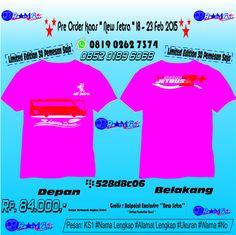 Pre Order Kaos ''New Setra, Digital Cutting Of Siluet''  18-23 Februari 2015