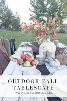 This outdoor fall ta