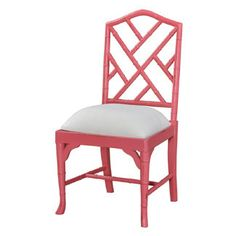 Martinique Bamboo Dining Chair in Pink – #Diningchairs #Diningroom #Armchair #decorating #gunmetal #interiordesign #stylish #forthehome VF Basic