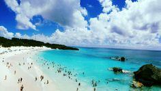 Down in Bermuda the pale blue sea  #water #bermuda #pale #blue #photography