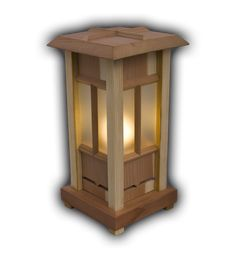 Specializing in custom fine furniture and unique woodworking creations Tea Candle Holders, Wood Lamps, Candle Lanterns, Wooden Pendant Lighting, Lantern Lamp, Wooden Lamp, Lanterns, Wooden Lanterns, Japanese Lamps