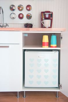 build a diy mini kitchen for under