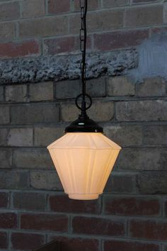 Nouveau-Hanging-Light-with-chain-suspension-cord