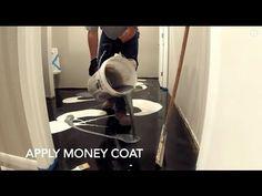 Grey Metallic Epoxy Floor Coating Dallas Texas - YouTube
