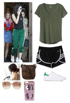 """""""Running errands with Kendall"""" by joelene-garcia ❤ liked on Polyvore featuring adidas, Gap, DUBARRY, Tom Ford and Chiara Ferragni"""