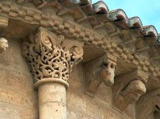 Pagina nueva 1 Romanesque Art, Kirchen, Latina, Sculptures, Building, Garden, Altars, Romanesque Architecture, Roman Art